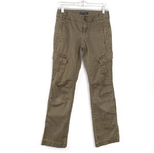 Banana Republic Green Cargo Pants Size 4